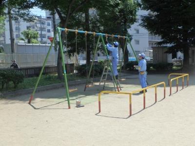 公園の安全点検3