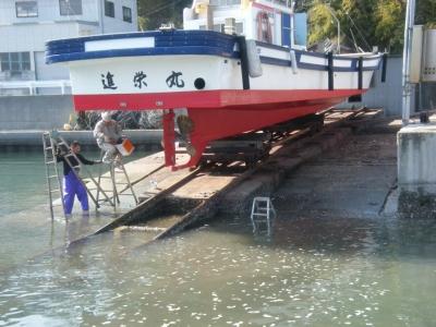 船のドック状況