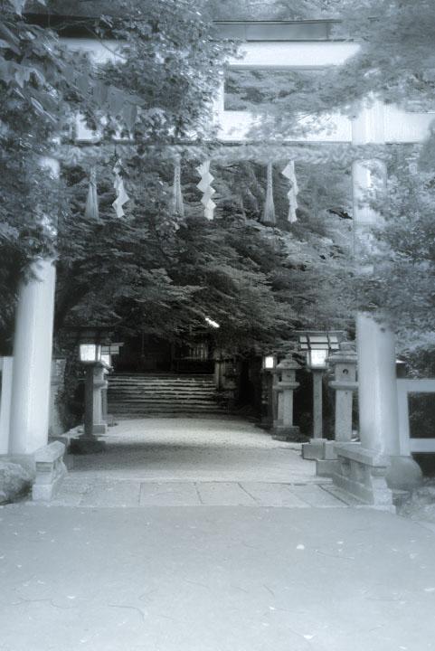 モノクロ大田神社