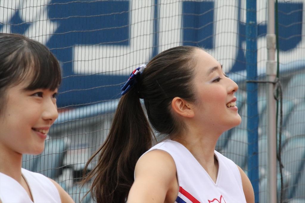 慶応義塾女子高のチアガール_3