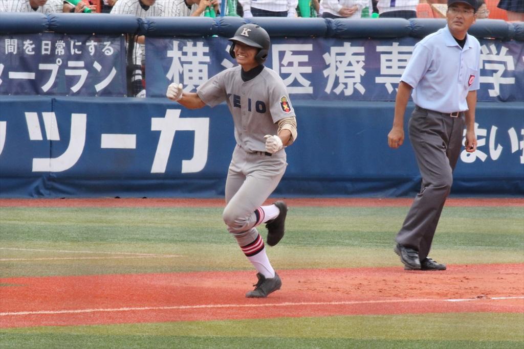 8回裏(東2-11慶)_9