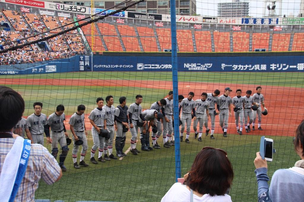 8回裏(東2-11慶)_11