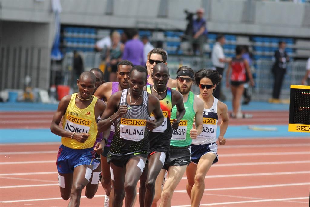 男子3000m(1)レース序盤の戦い_19