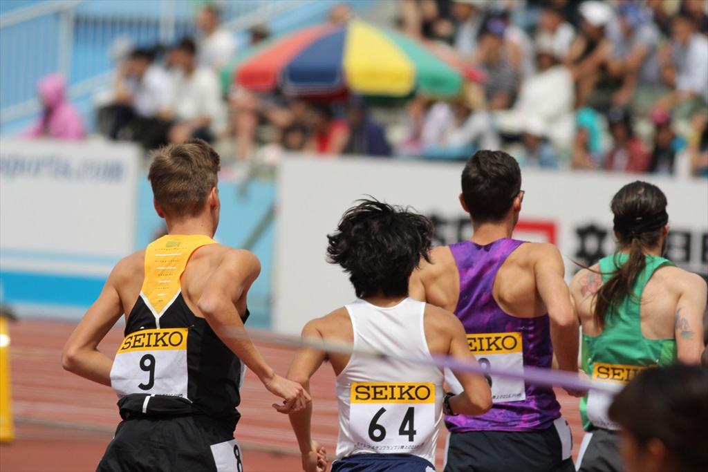 男子3000m(1)レース序盤の戦い_21