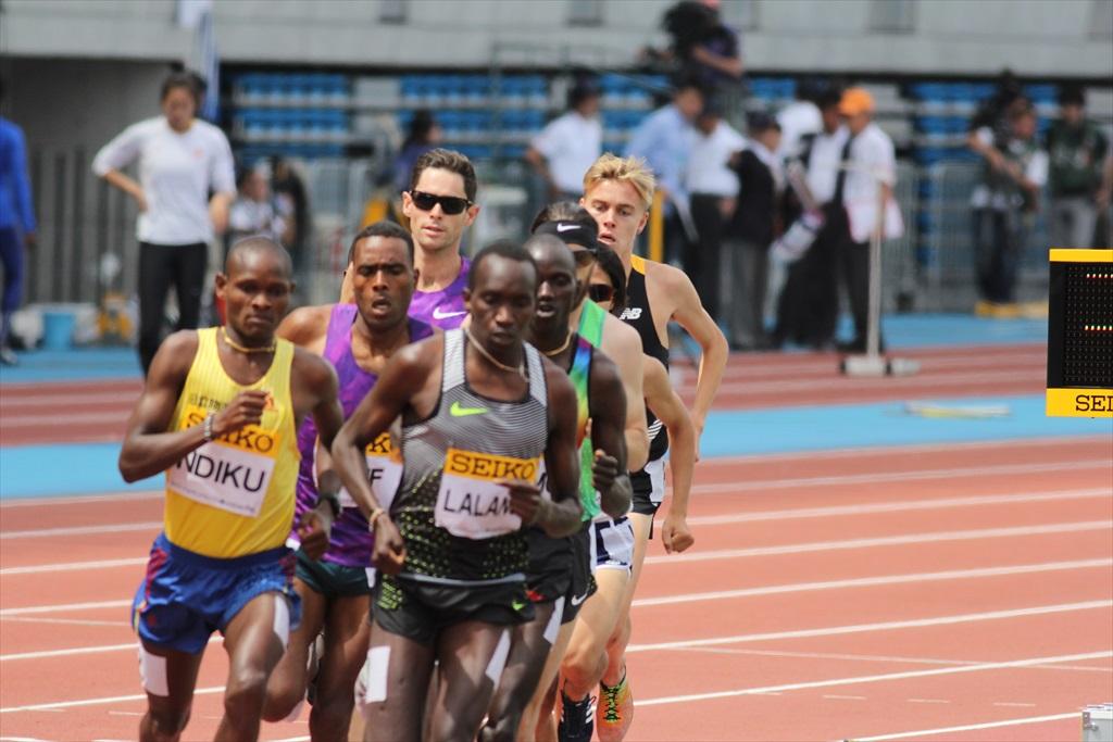 男子3000m(1)レース序盤の戦い_26