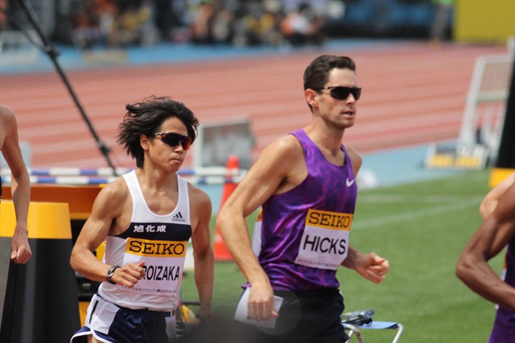 男子3000m(1)レース序盤の戦い_28