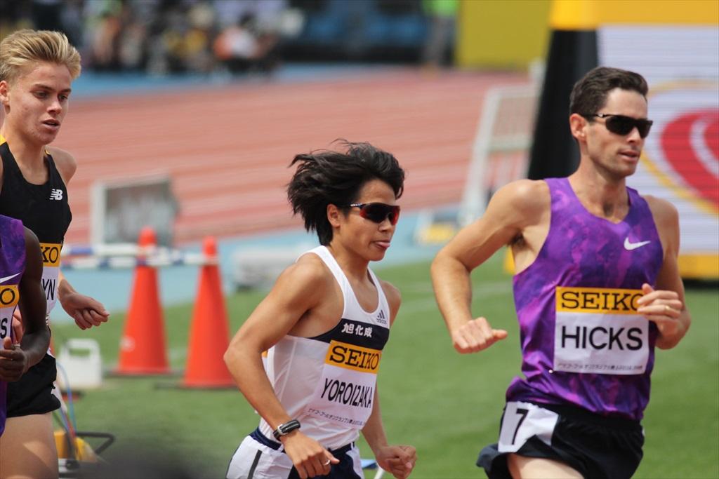男子3000m(1)レース序盤の戦い_29