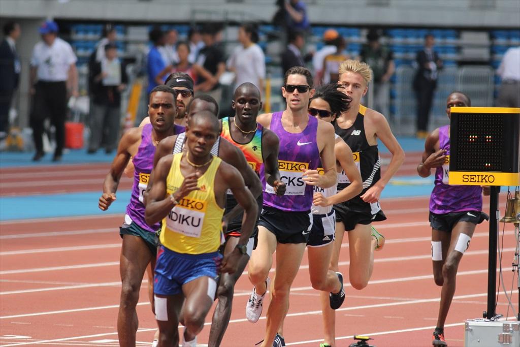 男子3000m(2)レース中盤の戦い_4