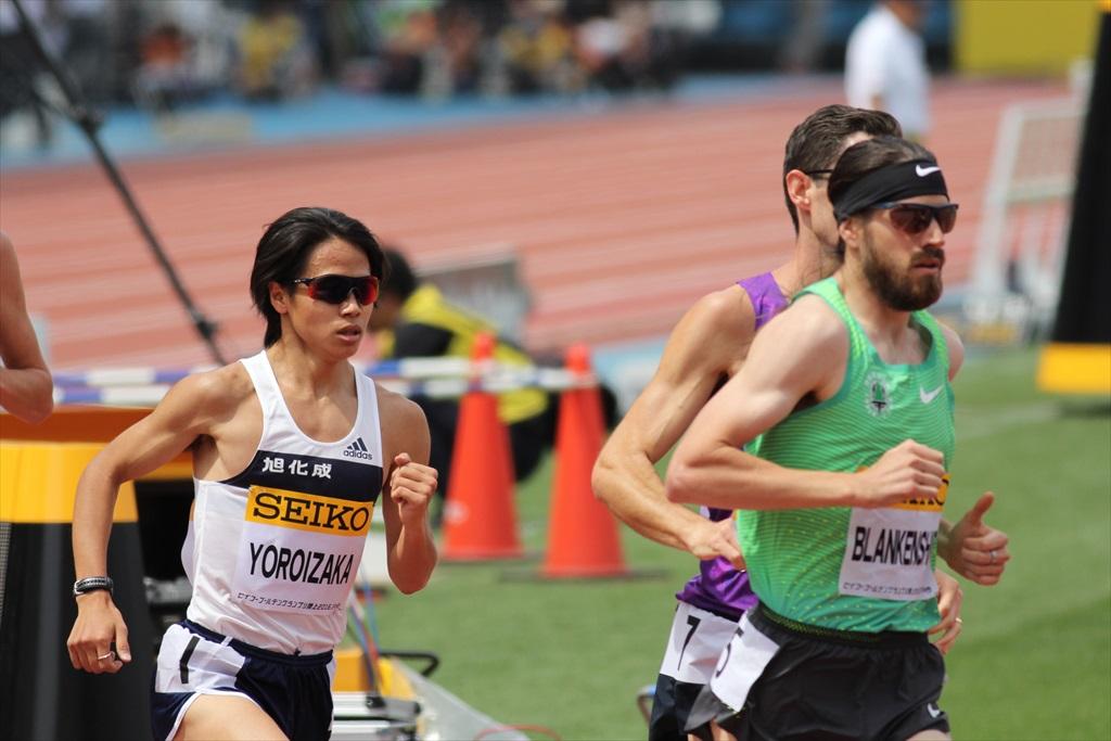 男子3000m(2)レース中盤の戦い_5
