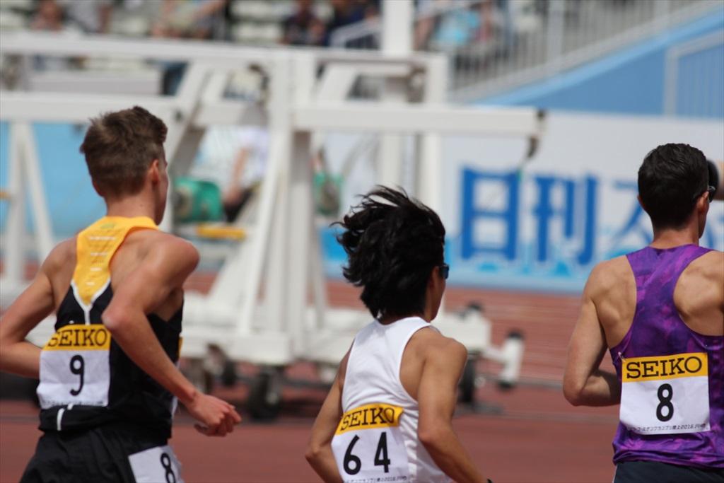 男子3000m(2)レース中盤の戦い_8