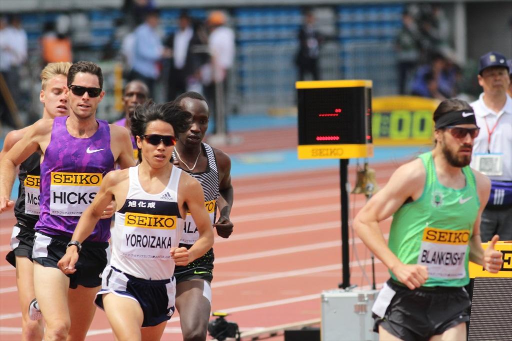 男子3000m(2)レース中盤の戦い_17
