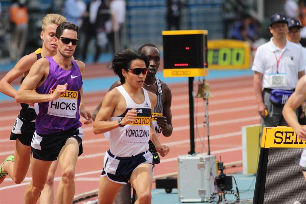 男子3000m(2)レース中盤の戦い_18