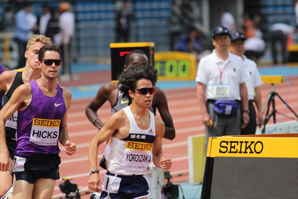 男子3000m(2)レース中盤の戦い_19