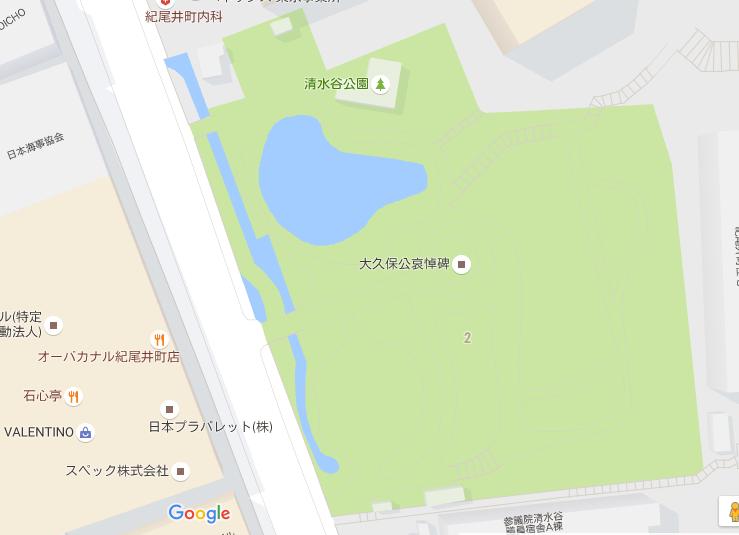 清水谷公園_地図