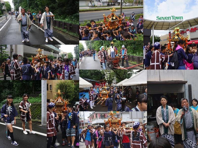 2016年9月11日(日)小豆澤神社例大祭子供神輿