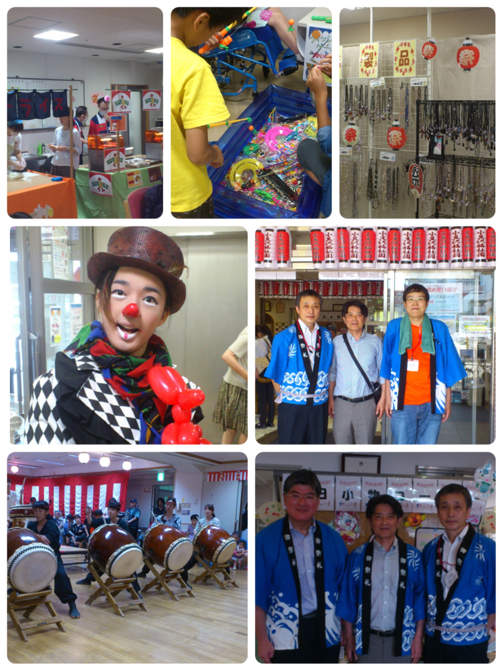 小豆沢福祉園夏祭り