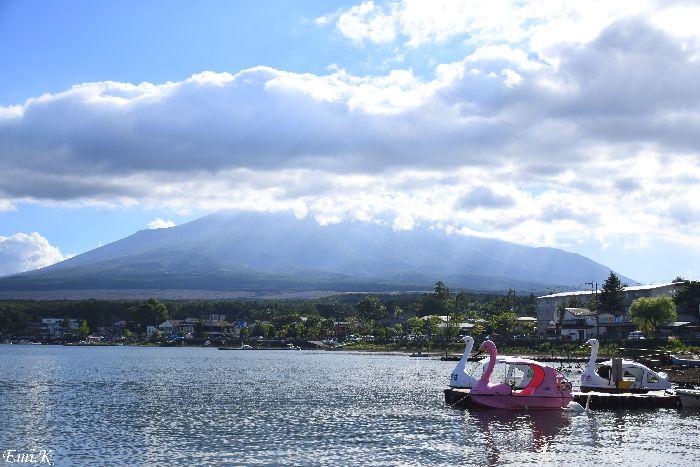 149-New-Emi-山中湖-富士山-光芒