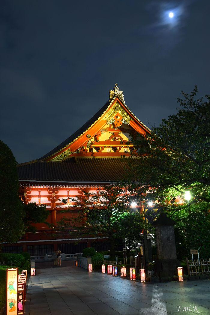 063-New-Emi-浅草寺燈籠会-満月