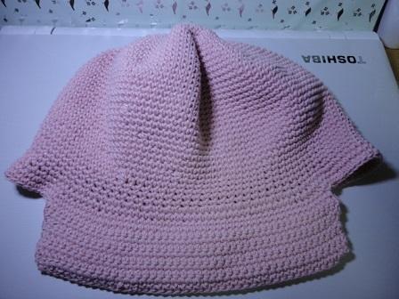 ピンクの帽子②