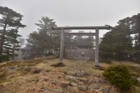 7弥山神社に到着