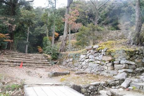 5秀吉の家跡