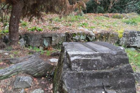 15仏足石