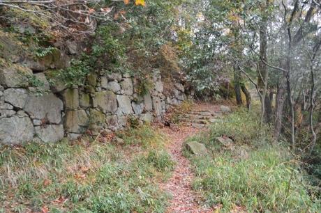 12石垣は多い