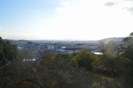 8伊賀上野の町