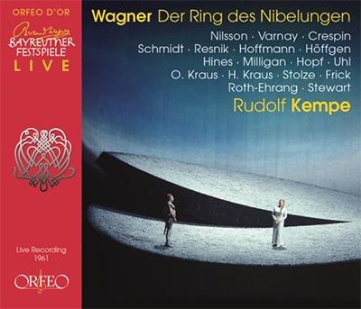 ルドルフ・ケンペ 、 バイロイト祝祭管弦楽団