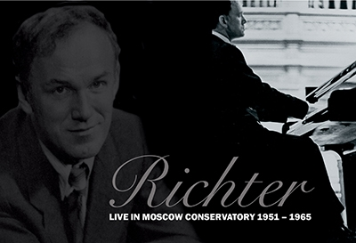 Richter Live in Moscow Conservatort 1951-1965