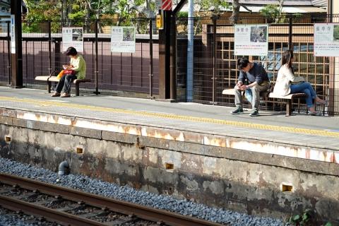 08北鎌倉駅下りホーム