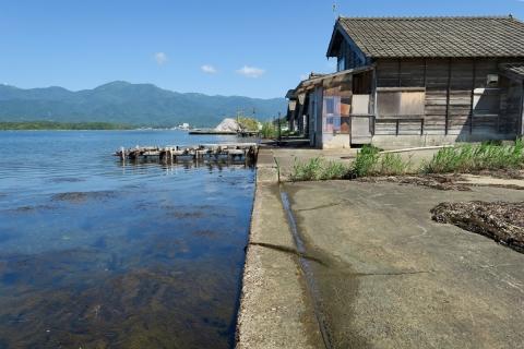 02 2日目朝の加茂湖