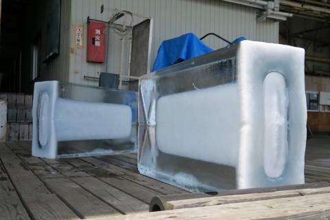 13 3日目両津の製氷所