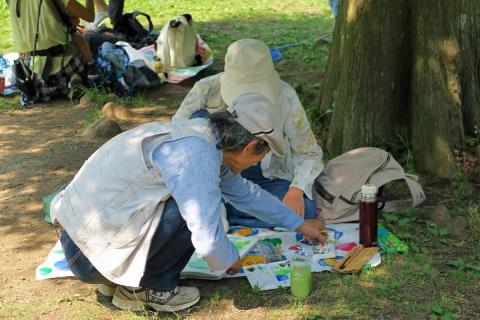 10新林公園 写生