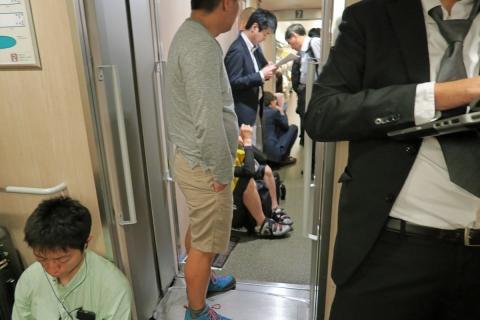 02行きの新幹線