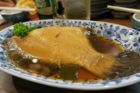 35魚さんこカレーの煮つけ