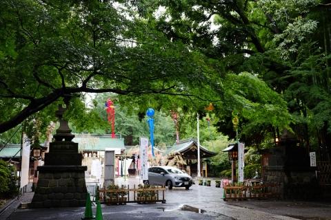02雨の大宮八幡