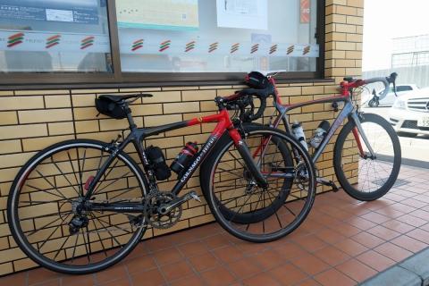 04今日の自転車コンビニ