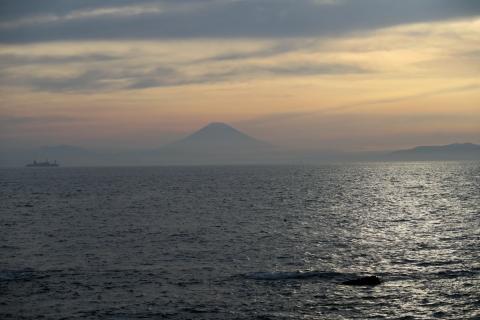 18浜金谷近くの富士山