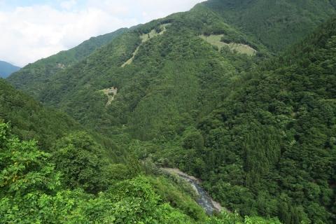 17遠山郷と遠山川