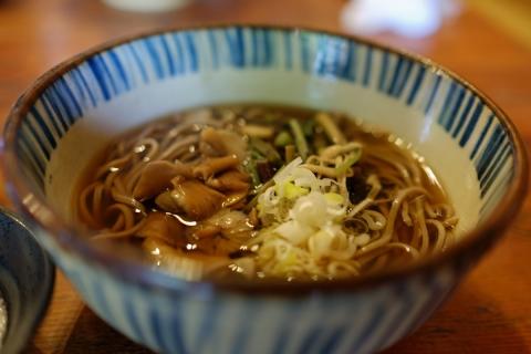 20御坂峠山菜とろろ蕎麦