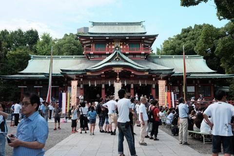 22富岡八幡宮本殿