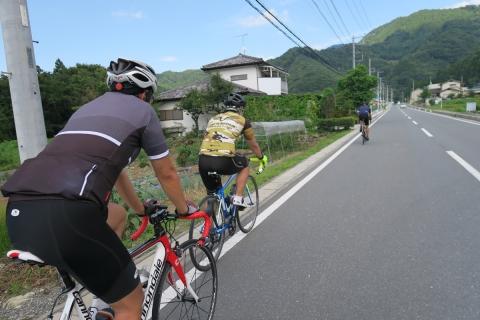 13定峰峠へ