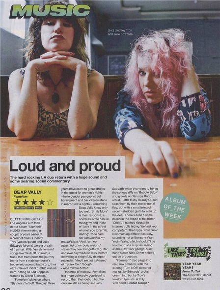 Deap Vally NME Album review