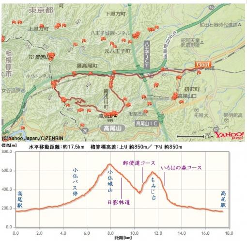 高尾山マイナールート2