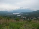 高指山から富士山を望む
