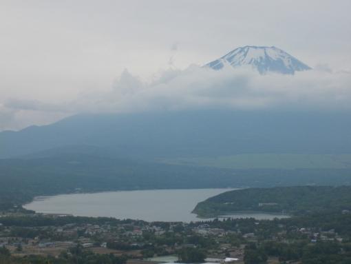 西丹沢から山中湖へ