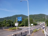 国道246号線を横断(7:13)