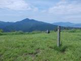 矢倉岳の頂上(10:01)