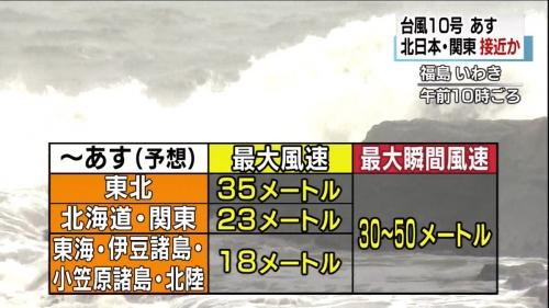 台風10号04